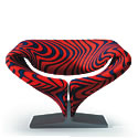 Der «Ribbon Chair» von Pierre Paulin