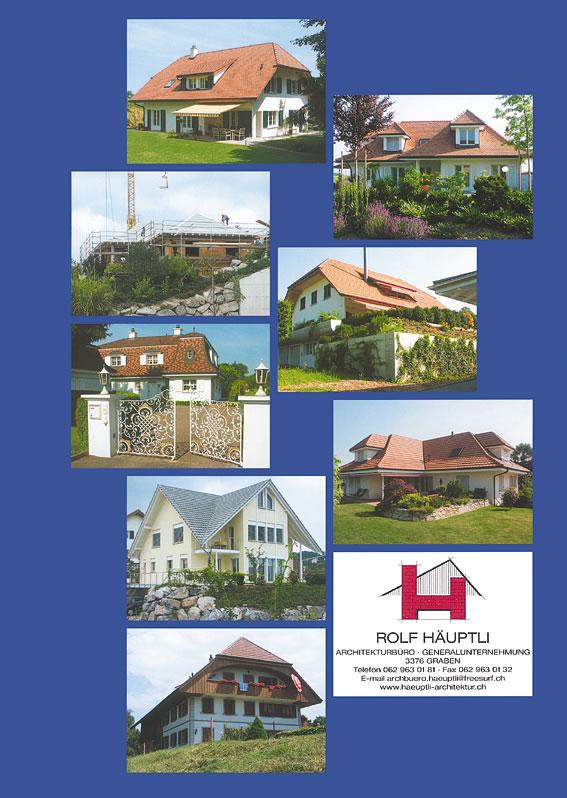 Schöne Häuser müssen nicht ...