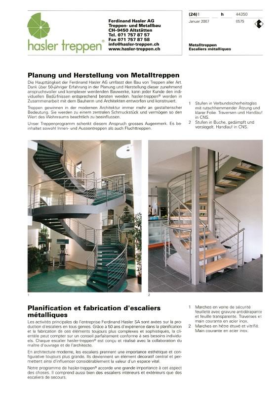 Metalltreppen Planung & Herstellung