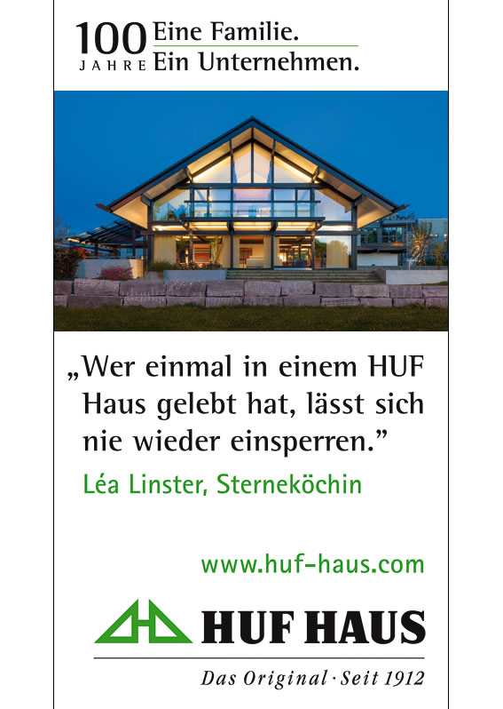 HUF HAUS Das Original seit 1912