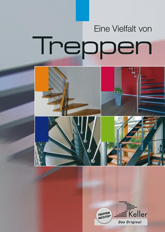 Eine Vielfalt von Treppen
