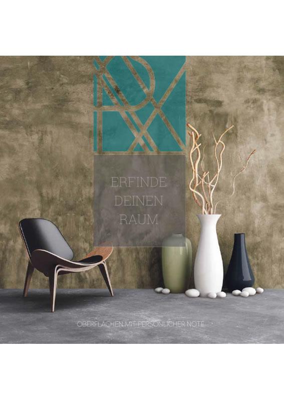Fugenlose Wand/Bodenbeschichtung