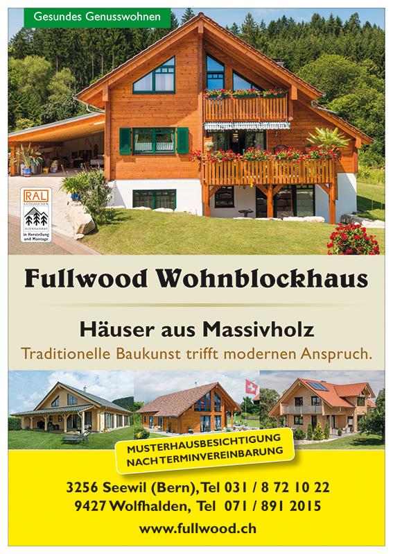 Häuser aus Massivholz