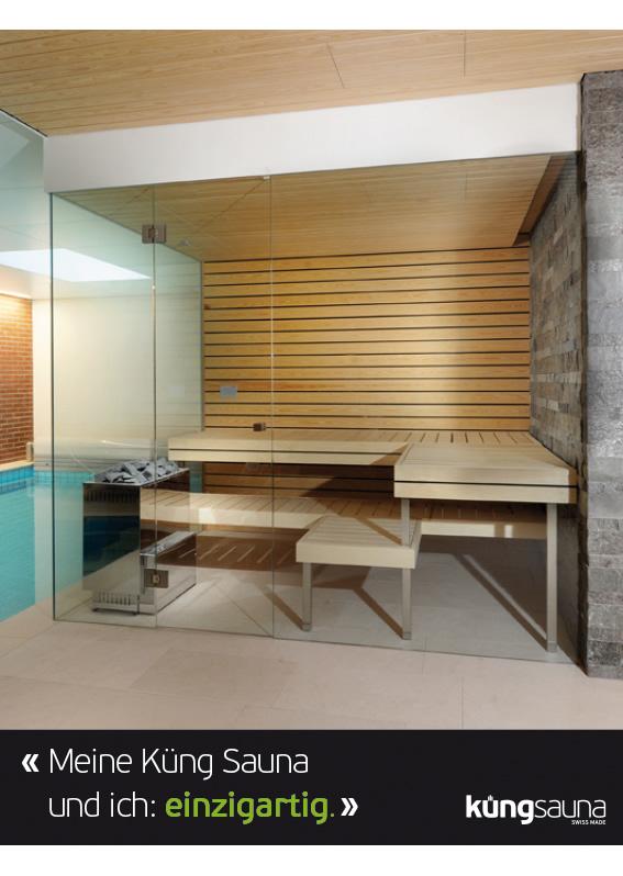 Meine Küng Sauna: einzigartig