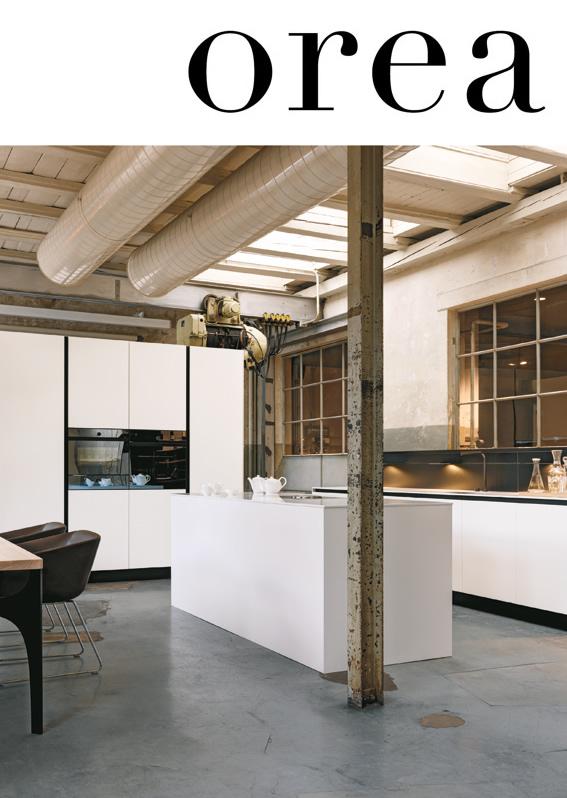 Küche als Raumkonzept