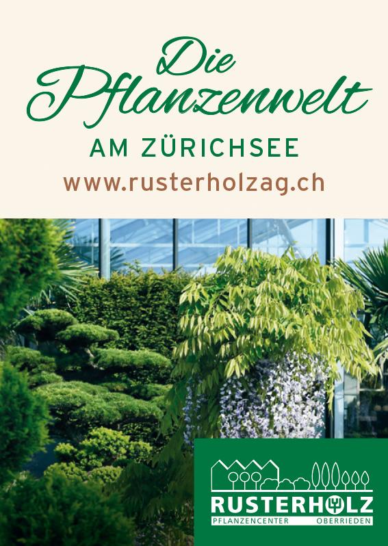 Die Pflanzenwelt am Zürichsee