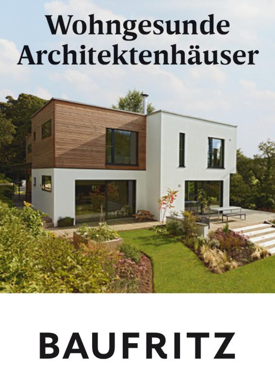 Wohngesunde Architektenhäuser