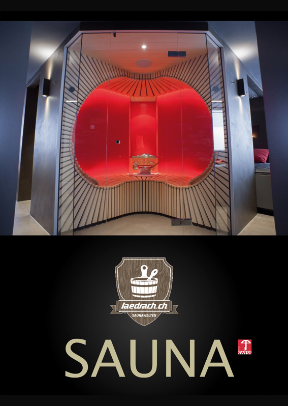 Sauna-Gesamtkatalog Swiss Made