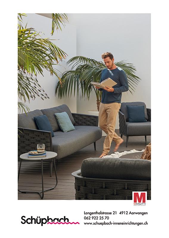 Manutti, Fischer-Möbel und Fermob