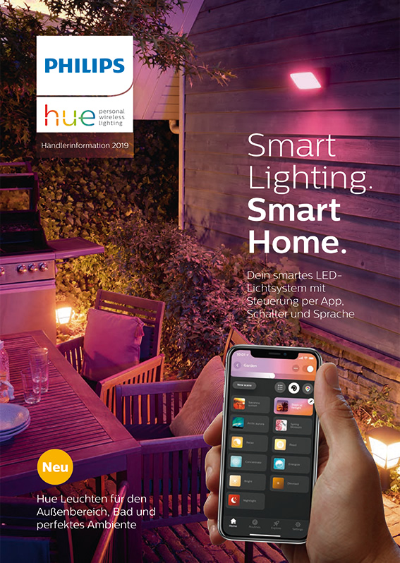 Philips Hue Beleuchtung