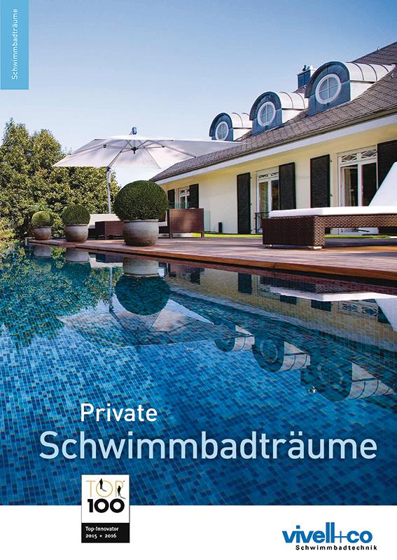 Private Schwimmbadträume