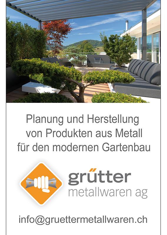 Metall im Garten