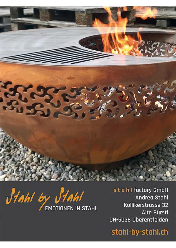 Stahl Objekte für Haus + Garten