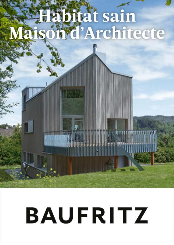 Habitat sain maison d'architecte