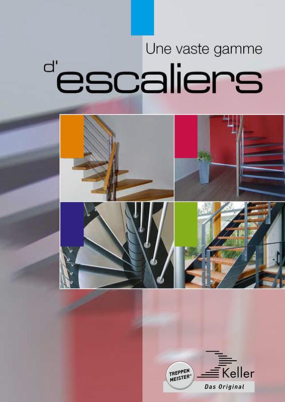 Une vaste gamme d'escaliers